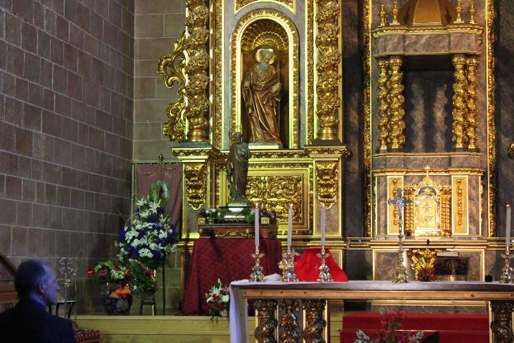 Resultado de imagen de altar iglesia de lardero